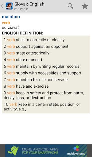 玩免費書籍APP 下載Slovak<>English Dictionary app不用錢 硬是要APP