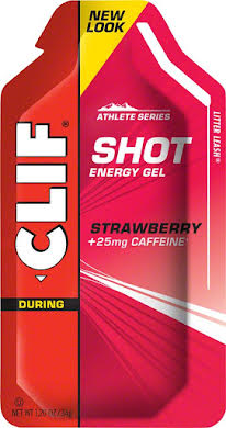 Clif Bar Clif Shot Energy Gel - Strawberry with Caffeine (24-pack) alternate image 0