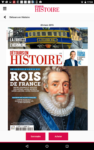 Détours en Histoire - Magazine