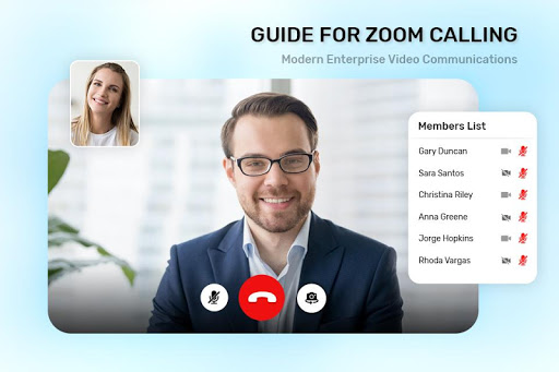 Guide For ZOOM Cloud Meetings VideoCall Conference screenshot 6