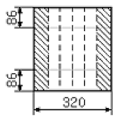 Calculation of a flat roof