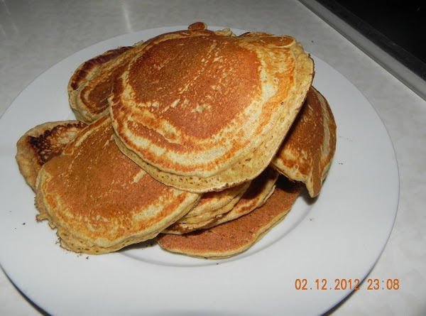 Heat a lightly oiled griddle or frying pan over medium-high heat. Pour or scoop...