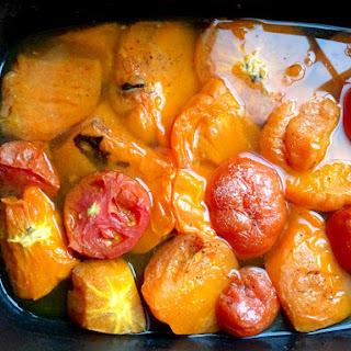 Homemade Slow Cooker Tomato Sauce.