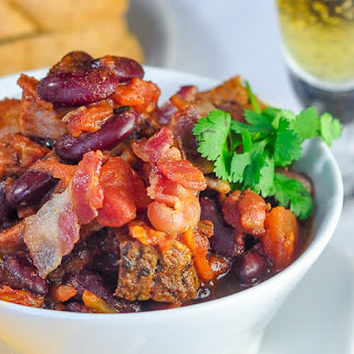 Prime Rib Beer Bacon Chili.