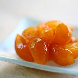 Candied Kumquats.