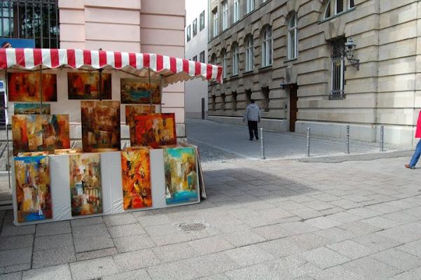 Mercato a Berlino di NuvolaForesta