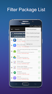 EZ Package Disabler (Samsung) Screenshot