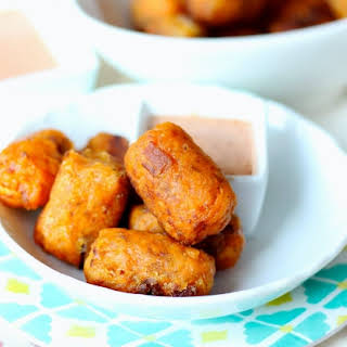 Sweet Potato Bacon Tots from The Paleo Kids Cookbook.