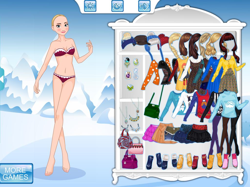 Barbie fashion games dress up games - Anna Frozen Dress Up Screenshot