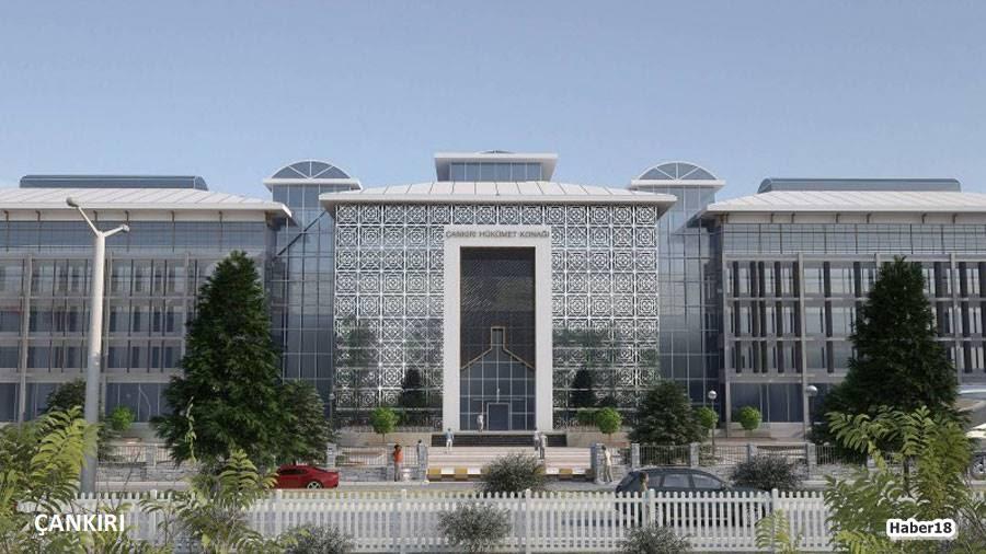 Çankırı Hükümet Binası,Çankırı Yeni Valilik Konağı,Vali Hamdi Bilge Aktaş,