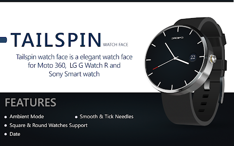 Tailspin Decent HD Watch Face screenshot 0
