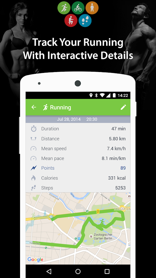 ActiFit – Auto Fitness Tracker- screenshot