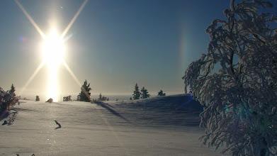 Photo: Alkukevättä kansallispuistossa Enontekiöllä