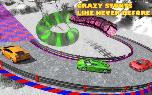 Extreme Stunts GT Racing Car- screenshot thumbnail