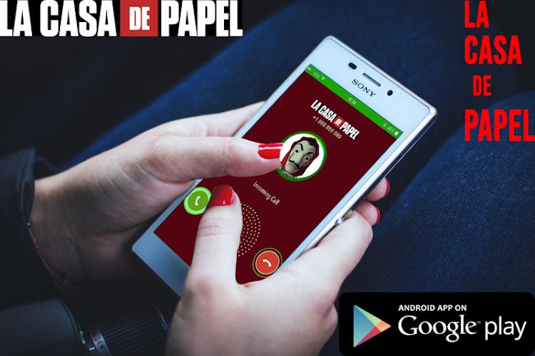 Download Live Video Call Casa De Papel Bella Ciao Simulator