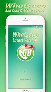 GBWhats Latest Version 2018 - náhled