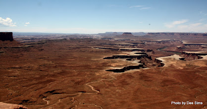 Photo: (Year 3) Day 47 - Looking Down in to the Green River in Canyonlands