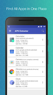 APK Extractor - Creator Screenshot