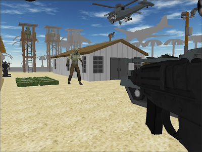 Zombie Shooting Tsunami screenshot 0
