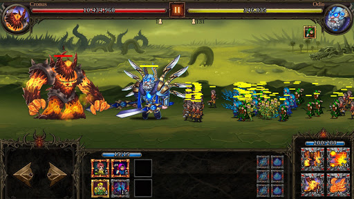Epic Heroes War: Action + RPG + Strategy + PvP apkbreak screenshots 1