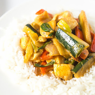 Coconut Chicken Thai Curry Recipe