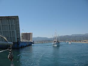 Photo: Argos passing bridge