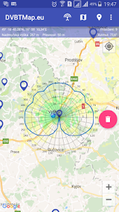 DVBTMap.eu- screenshot thumbnail