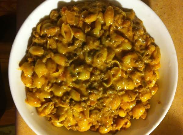 Cheesy Hamburger Mac Recipe