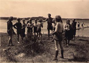 Photo: Zeltlager in Drewitz 1953