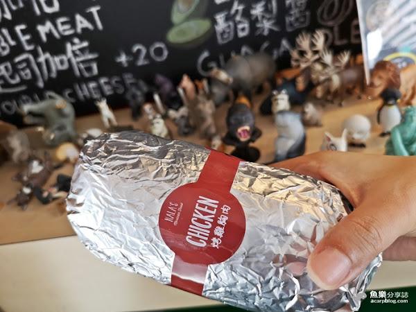 NALA's墨西哥捲|中正紀念堂美食
