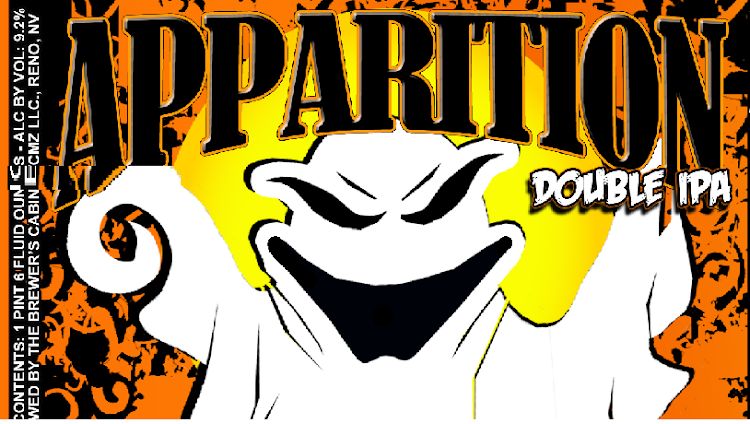 Logo of Brewer's Cabinet Apparition Double IPA