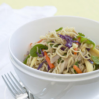 Asian Chicken Noodle Salad.