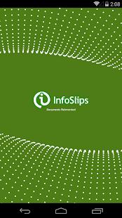 InfoSlips Viewer 2.0 - náhled