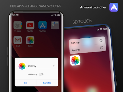 Armoni Launcher – iOS 14 Launcher PRO 3