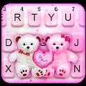 Teddy Bear Couple Keyboard Theme icon