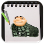 How to Draw Despicable Me Advanced APK icon
