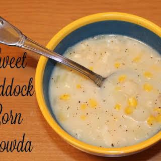 Sweet Haddock & Corn Chowda.