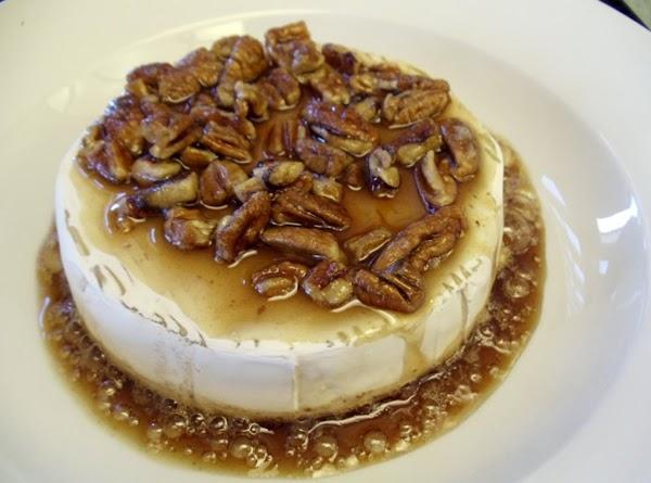 Bake until the sugar melts (3-5 minutes more.)