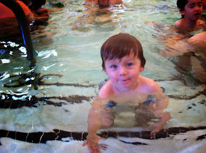 Photo: Finny at Swim Class