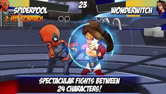 Superheros Free Fighting Games 3.3 APK