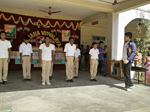 Photo: Skit by students of class 10 and 11