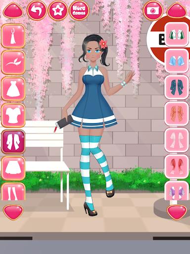 Anime Girls Fashion - Makeup & Dress up apktram screenshots 15
