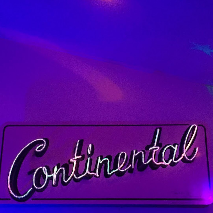 The neon sign at Continental Club.
