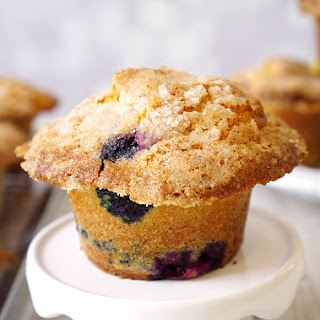 The Best Bakery-Style Blueberry Muffin Recipe Ever!.