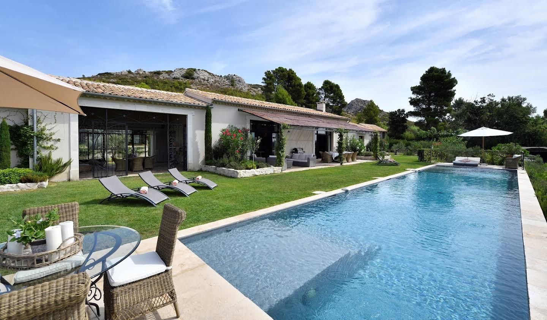 Maison avec piscine et jardin Maussane-les-Alpilles