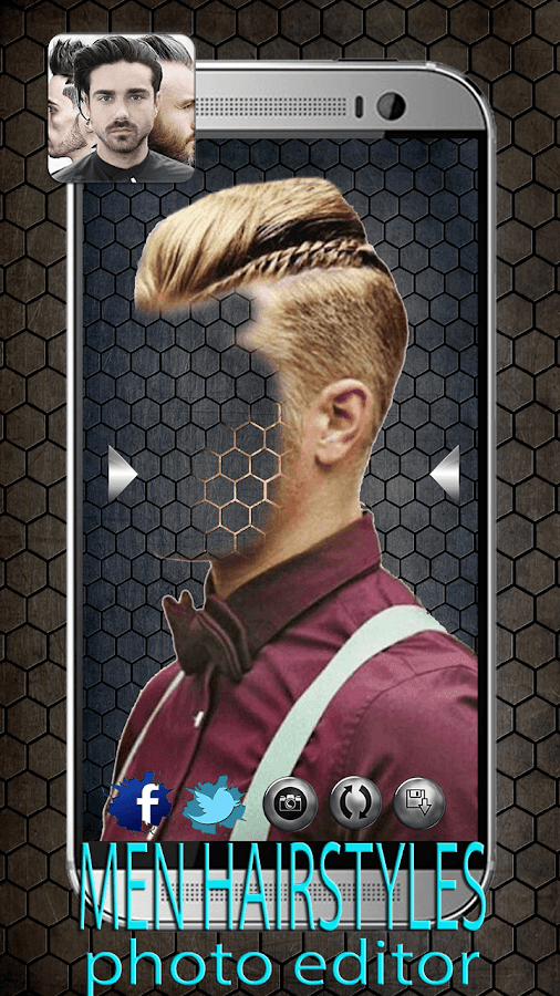 Surprising Men Hairstyles Photo Editor Android Apps On Google Play Short Hairstyles Gunalazisus