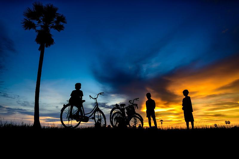 Nelle campagne cambogiane... di ianna