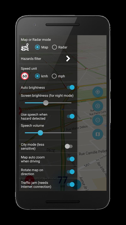 Speed camera radar (PRO) Screenshot 6