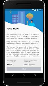 Forvo Travel 1.0.0 (Paid)