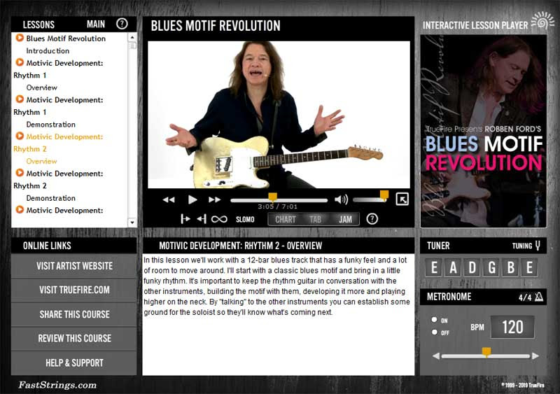 Robben Ford - Blues Motif Revolution